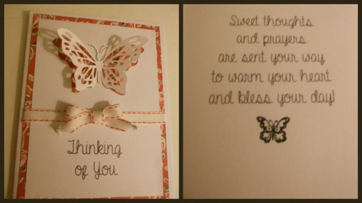 Stampin Up Butterfly Card 1